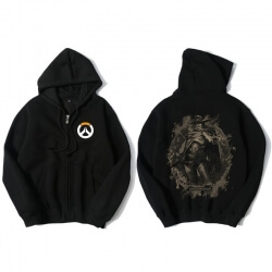 Overwatch Mccree Sweatshirt Mens Black Hoody