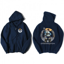 Overwatch Mei Hoodie For Boys Black Sweater