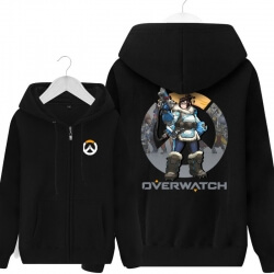 Overwatch Mei Sweatshirt Men Black Sweater