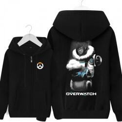 Overwatch Mei Sweatshirt Mens Black Hoodie