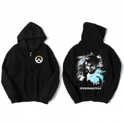 Overwatch OW Hanzo Sweater Mens Black Hoodies