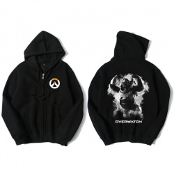 Overwatch OW Hero Clothing Winston Zip Up Hoodie