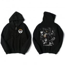 Overwatch OW Reinhardt Sweatshirt Men Black Sweater