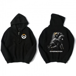 Overwatch Pharah Hoodie For Mens Black Sweatshirt