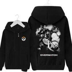 Overwatch Roadhog Sweatshirt Men Black Hoodies