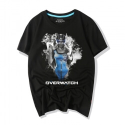 Overwatch Symmetra Ink Print T Shirt