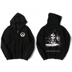 Overwatch Symmetra Sweat Shirts Mens Black Hoodie