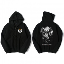 Overwatch Torbjorn Sweater Mens Black Hoodies