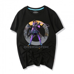 Overwatch Video Game Sombra Tshirts