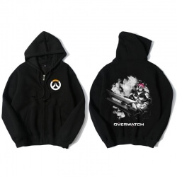 OW Overwatch Zipper Hoodie Zenyatta Clothing