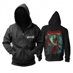 Personalised Aborted Hoodie Belgium Metal Rock Sweatshirts