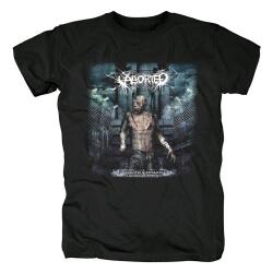 Personalised Aborted T-Shirt Belgium Metal Punk Rock Band Shirts