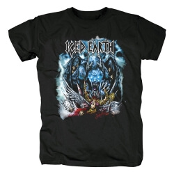 Personalised Band Iced Earth T-Shirt Us Metal Rock Tshirts