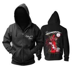 Personalised Children Of Bodom Hoodie Finland Metal Music Sweatshirts