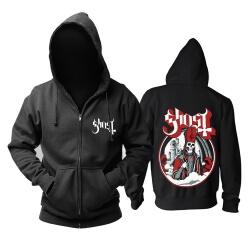Personalised Ghost Hoodie Metal Music Band Sweat Shirt