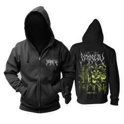 Personalised Impiety Hooded Sweatshirts Metal Music Band Hoodie