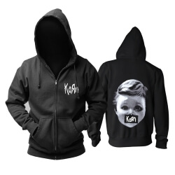 Personalised Korn Hooded Sweatshirts California Metal Punk Rock Band Hoodie