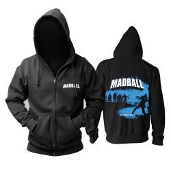 Personalised Madball Hooded Sweatshirts Hard Rock Punk Rock Band Hoodie