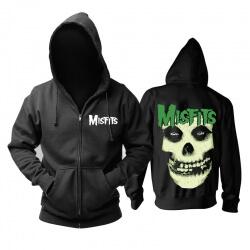 Personalised Misfits Jarek Skull Hooded Sweatshirts Metal Music Hoodie