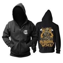 Personalised Municipal Waste Hooded Sweatshirts Metal Rock Hoodie