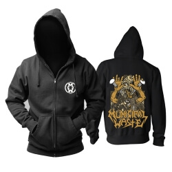 Personalised Municipal Waste Hooded Sweatshirts Metal Rock Hoodie