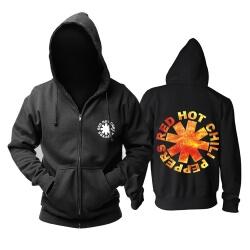 Personalised Red Hot Chili Pepper Hoody Metal Punk Rock Band Hoodie