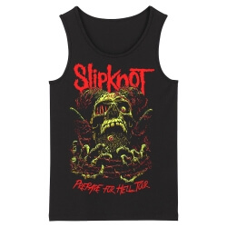 Personalised Us Slipknot Tank Tops Metal Rock Band Sleeveless Graphic Tees