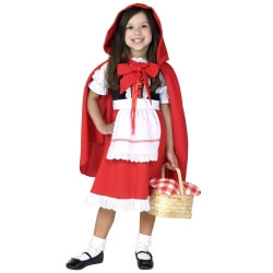 The Princess Cloak Cosplay Costume Kids Little Red Riding Hood Performance Clothing
