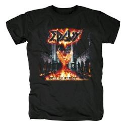 Quality Edguy Band Hall Of Flames Tees Metal Rock T-Shirt