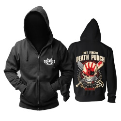 Quality Five Finger Death Punch Hoody California Hard Rock Metal Rock Band Hoodie