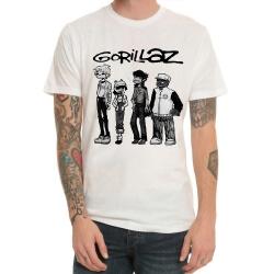 Quality Gorillaz Rock Bnad Tee Shirt for Men