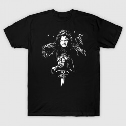Quality House Stark Jon Snow Tshirt