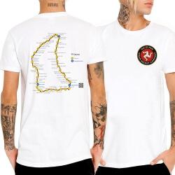 Quality Isle of Man TT White Tshirt