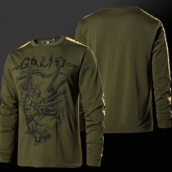 Quality LOL Galio Hero Tshirt League of Legends Long Sleeve Tee