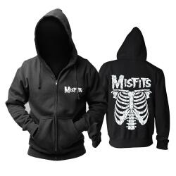 Quality Misfits Jarek Skull Hoodie Hard Rock Metal Punk Sweat Shirt