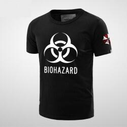 Quality Resident Evil Mens Red T-shirt