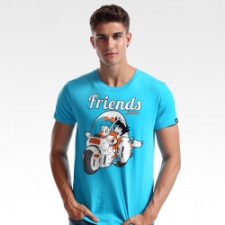 Quality Son Goku and His Friends T-shirt 3xl Dragon Ball Tee