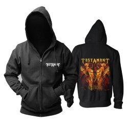 Quality Testament Hoodie Hard Rock Metal Rock Band Sweatshirts