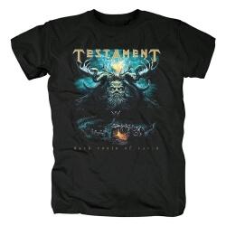 Quality Testament Tshirts Metal Rock T-Shirt