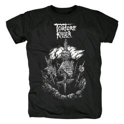 Quality Torture Killer Phobia Tee Shirts Metal T-Shirt