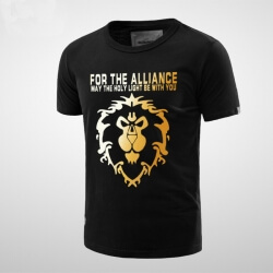 Quality WOW Alliance Lion T-shirt