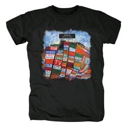 Radiohead Hail To The Thief Tee Shirts Metal Rock T-Shirt