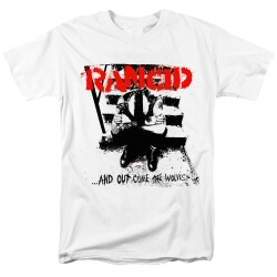 Rancid And Out Come The Wolves Tee Shirts Rock T-Shirt