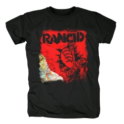 Rancid Let'S Go T-Shirt Punk Rock Shirts