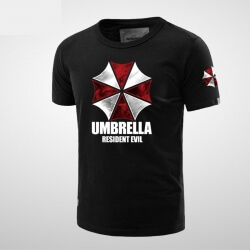 Resident Evil Umbrella Corporation Logo Tshirt for Men