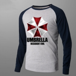 Resident Evil Umbrella Corporation Shirt Long Sleeve
