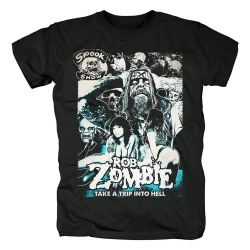 Rob Zombie Band Tees Metal Rock T-Shirt