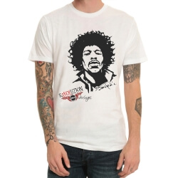 Rock Band Jimi Hendrix Tshirt