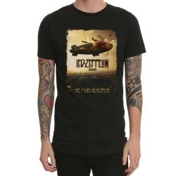 Rock Band Led Zeppelin Tshirt Black Heavy Metal T