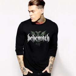 Rock Music Team Behemoth Long Sleeve Tshirt